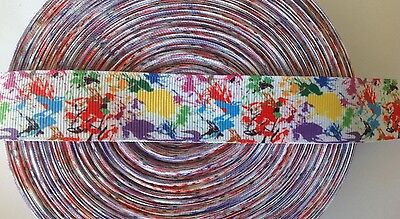 """Painter's Art  inspired 1"""" Ribbon - By The Yard - USA Seller"""