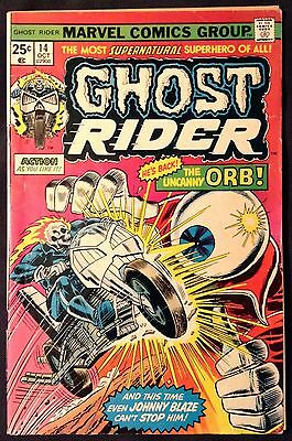 Ghost Rider Comic Book #14, Marvel Comics 1975 VERY FINE/NEAR MINT