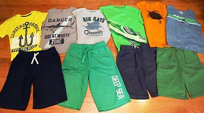 Lot of Gymboree, Carter's Boys Shirts, Tank Tops, Shorts size  10-12