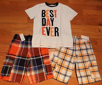 Gymboree Boys Best Day Ever T-Shirt and Shorts size 12