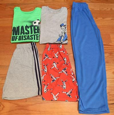 Lot of Carter's Boys PJs Baseball and Soccer in Size 12