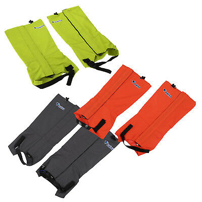 Outdoor Waterproof Windproof Gaiters Leg Protection Guard Skiing Climbing M5R9