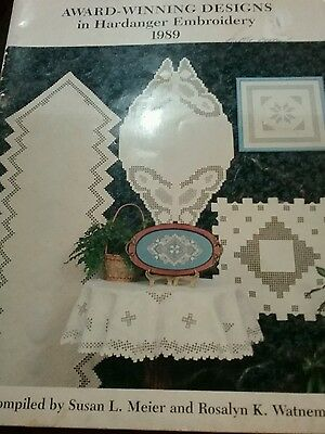 Hardanger embroidery book