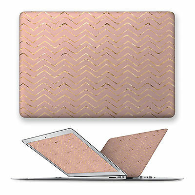 Matte Hard Top Front Case Cover For Apple Mac Macbook Air Pro 11 12 13 15 Wave