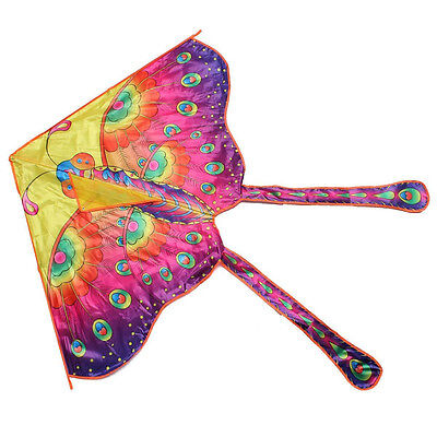 Butterfly Kite Long Tail for Outdoor Sports for child Adult X3D7