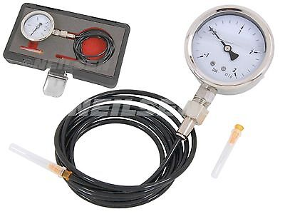 Universal Turbo Pressure Gauge 1- 3 Bar Fuel Injection Pressure Tester Gauge