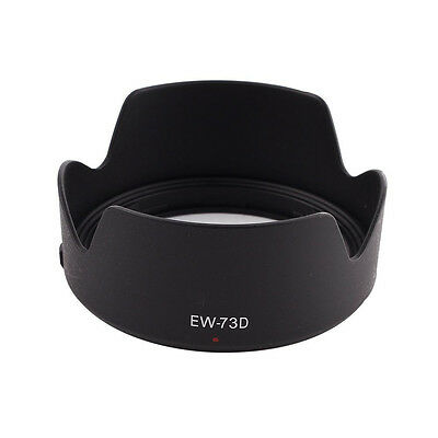 EW-73D Lens Hood Shade Protector Cover For  EF-S 18-135mm f/3.5-5.6 IS X6I3