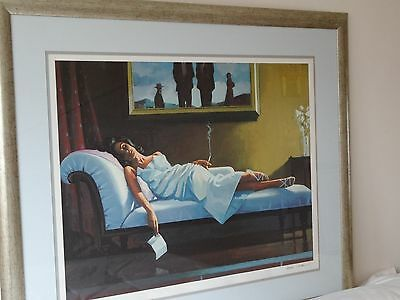 Jack Vettriano limited edition print The Letter