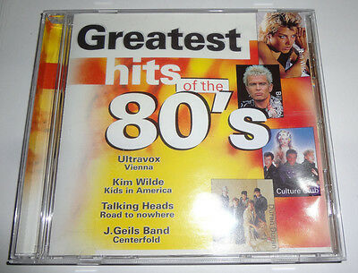 Greatest Hits of the 80's    [Music CD]