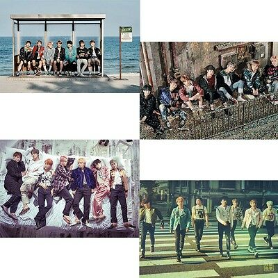 BTS (Bangtan Boys) KPOP Album Official Folded Poster