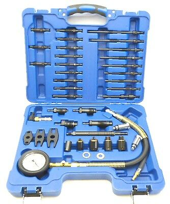 Petrol & Diesel Engine Compression Tester Universal Master Kit Full Instructions