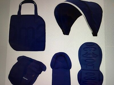 Oyster 2 Oyster Max Stroller Colour Pack Electric Blue