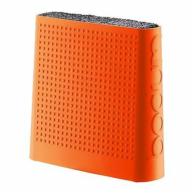 Bodum Bistro kitchen Universal Knife Block Holder, Orange