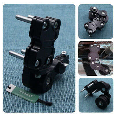 CNC Chain Tensioner Adjuster with Roller for Motorcycle Motocross Enduro Black