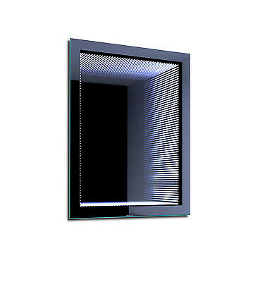LED Illuminated Bathroom Mirror Infiniti Pekin 70x53 cm | Modern | Wall mounted