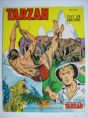 collection Tarzan N°39 1969 éditions mondiales TBE