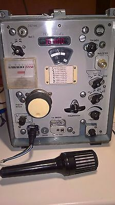 QRP military professional receiver R326M converted into the transceiver