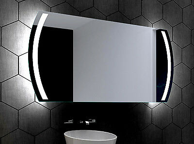 LED illuminated Bathroom Mirror Kair 100x60 cm | Modern | Wall mounted