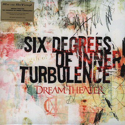 DREAM THEATER - Six Degrees Of Inner Turbulence / LIMITED 180g Vinyl 2-LP NEW