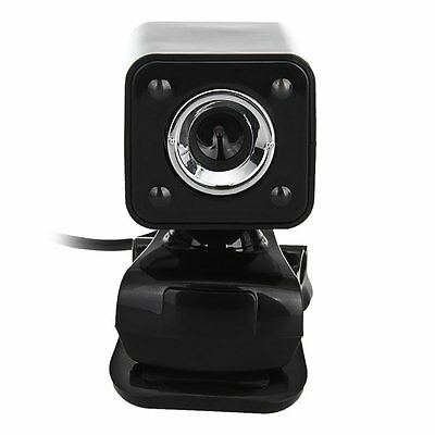 1080P 800W 4 LED HD Webcam Camera + USB 2.0 Microphone for Computer PC Lapt O2B1