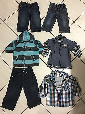 Baby Boys SIZE 1 Bulk Lot Jeans Shirts Jumper X6 Items Mostly Pumpkin Patch