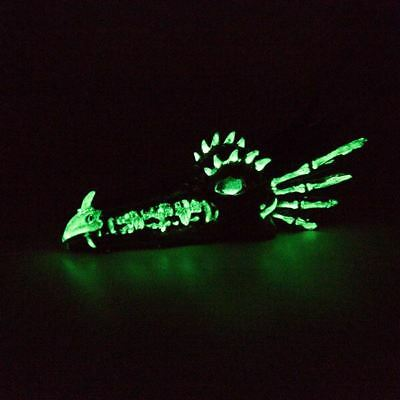 Green Glow in the dark paint strong glow Strontuim Aluminate NOT Zinc Sulfide