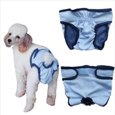 Femmes Pet Dog Puppy Physiological Sanitary Pant Diaper Underwear d'animal chien