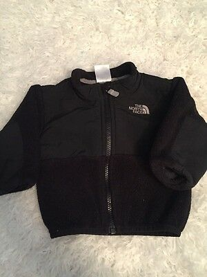 Infant 3/6 The North Face Black Oso Jacket Girl Boy