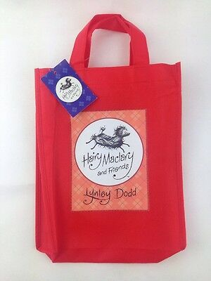 Hairy Maclary and Friends Book Bag with Label - Children's Carry Bag