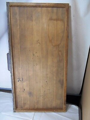 "Antique or Vintage- Printer / Typeset Drawer, Miniatures Shelf,  32 "" x 17 1/4"""