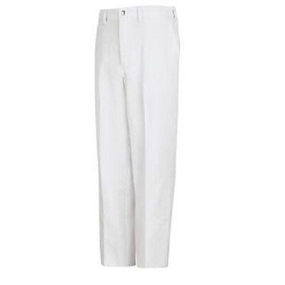 Pinnacle Chef Trends P100 White Cook Chef Pants, Size 42 (Unhemmed) New