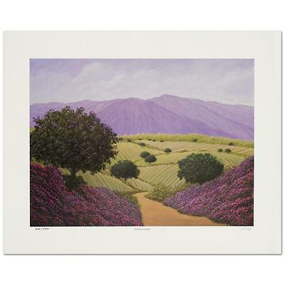 """Steven Lavaggi - """"Wondrous World"""" Hand Signed Limited Edition Lithograph"""