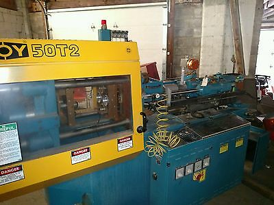 Boy 50-T2 Plastic Injection Molding (1995). Only 12,765 Production Hours !!!!!