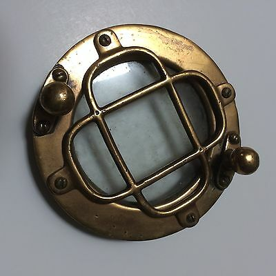 Authentic Early Front Screw-On Portal for Morse Diving Helmet