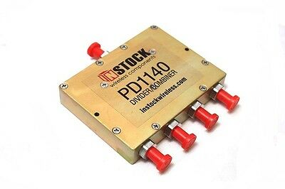 InStock Wireless PD1140 RF Power Divider Combiner Splitter 0.698-2.700 GHz