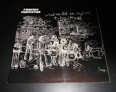 FAIRPORT CONVENTION What We Did On Our Holidays PINK ISLAND LP **SUPER EXAMPLE**