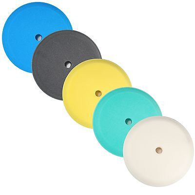 """9"""" Contour Foam Buffing Pads, Recessed backs for Rotary Polishers- 5 pk (USA)"""
