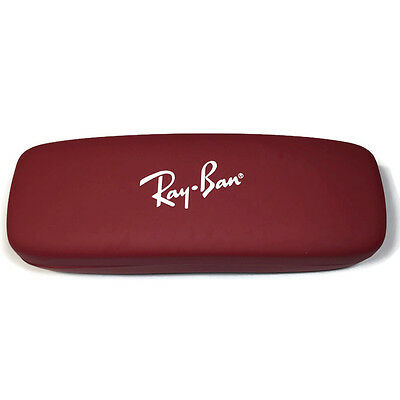 Ray Ban JR Eyeglasses Sunglasses Glasses RED Hard Case ONLY