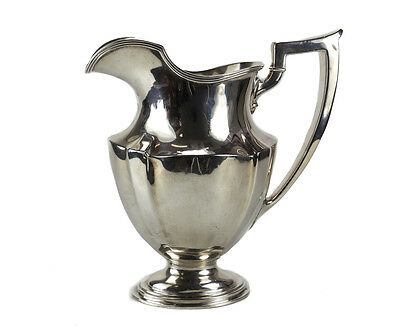 Gorham Mfg Co Sterling Silver 3 3/8 Pint Water Pitcher in Plymouth #A2788