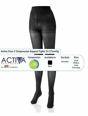 Activa Tights Support Stockings Varicose Vein Circulation Compression DVT Socks