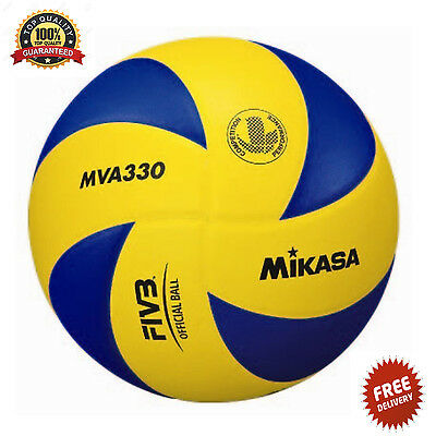 Mikasa MVA-330 Volley Ball - Blue Volleyball Sport Official High Quality