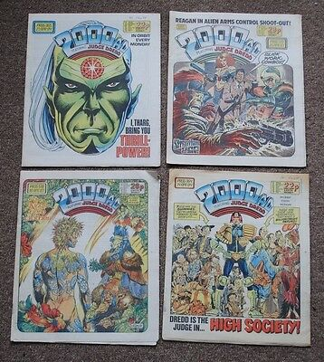 Job Lot 2000AD - mostly 1980's Plus Eagle and other comics. 44 in total FREE P&P