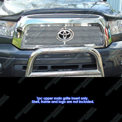 Fits 07-09 Toyota Tundra Stainless Steel Mesh Grille Insert