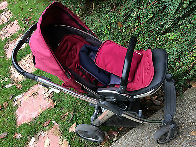 oyster 1 pushchair with carrycot
