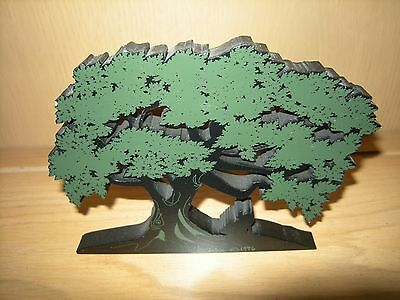 """Shelia's Collectibles - Gone With The Wind - """"Silhouette"""" Of Oak Tree #2"""