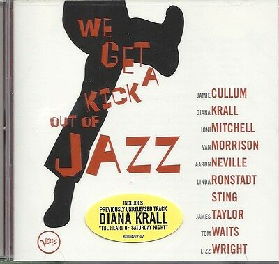 We Get A Kick Out Of Jazz W/ Diana Krall, Linda Ronstadt, Sting & More Music Cd