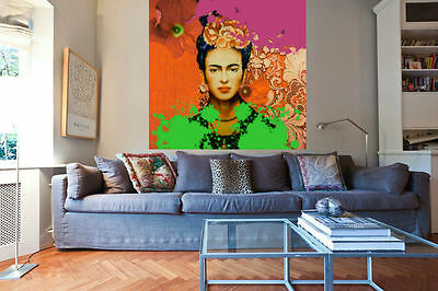 frida kahlo xxl kunstdruck bild malerei poster pop art 100. Black Bedroom Furniture Sets. Home Design Ideas