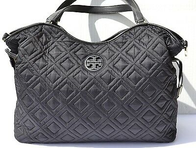 Tory Burch Marion Quilted Slouchy Baby Diaper Bag $550