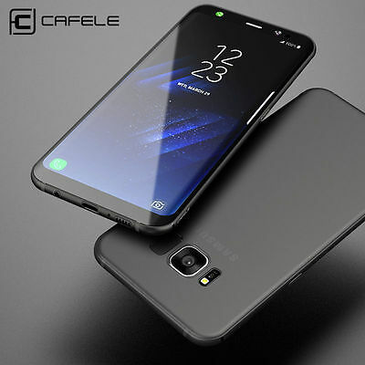 CAFELE Ultra Thin Slim Soft Cover Case Matte For Samsung Galaxy S9 S8 Plus Note9