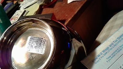 silver plate candy dish international silver co. USA, meriden, CT VERY good cond